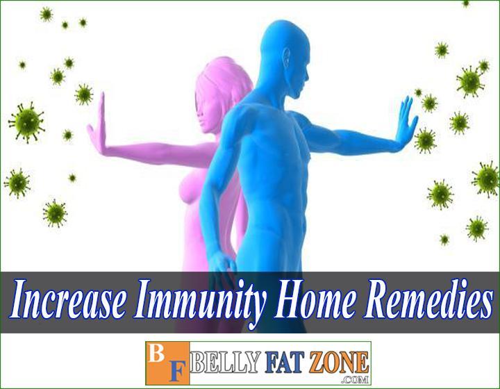 How to increase immunity home remedies?