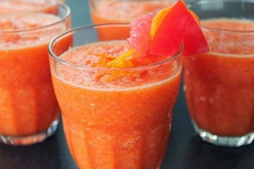 Grapefruit and tomato juice weight loss