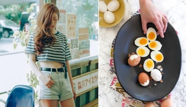 Effective weight loss with eggs after 1 week