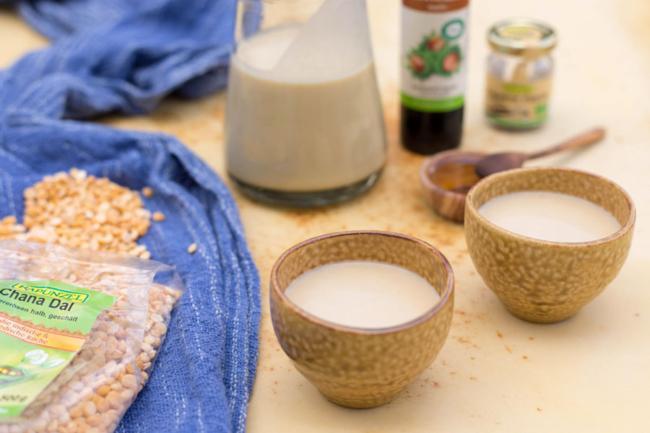 Milk chickpeas