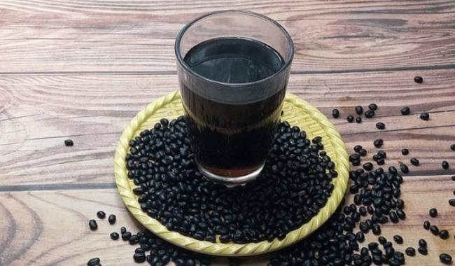 Beverages of black beans.