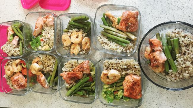 Divide into several small meals a day