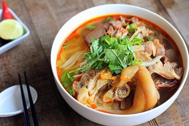 Weight gain meal with beef noodle bowl morning (internet image source)