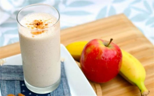 Weight loss smoothies with bananas and apples Japanese