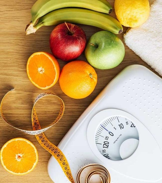 Replace sweets with fruits low in sugar