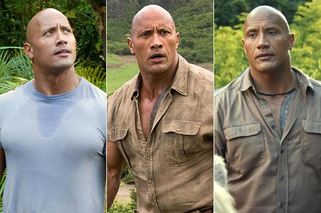 The rock cinematic universe