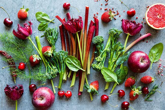 vegetables, tubers, and fruits