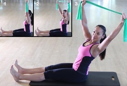 Pilates exercises reduce belly fat.