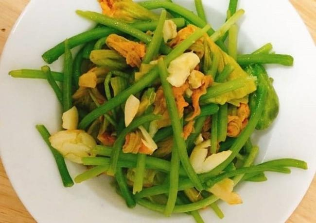 Cotton garlic sauteed vegetarian squash menu for weight loss.