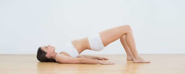 Weight loss exercises in bed Supine Leg Marches