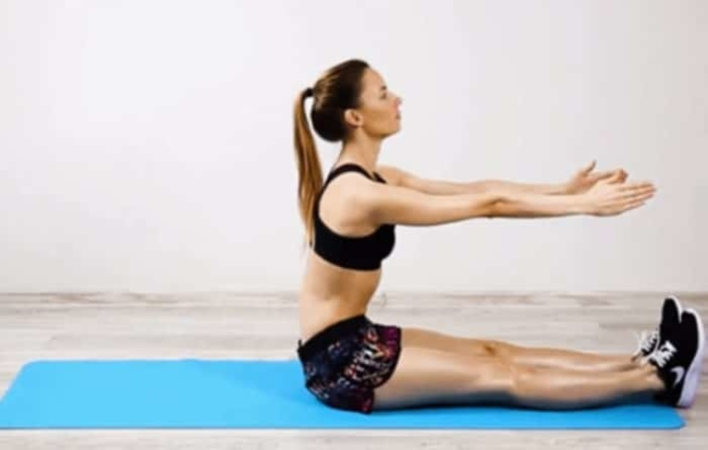 Lose belly fat fast with an uplifting exercise