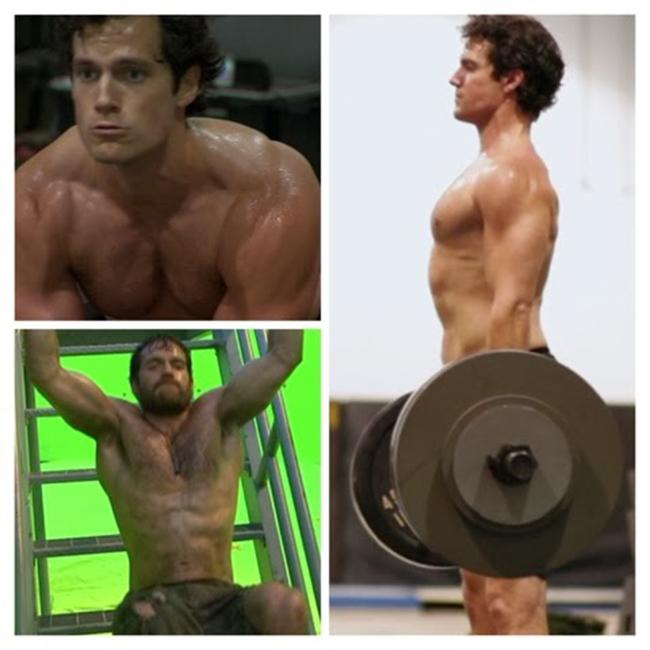 Henry Cavill Diet and Workout