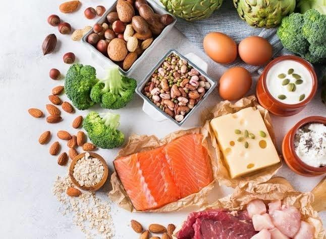Protein-rich foods.