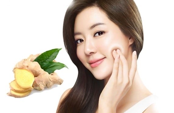 Slimming face, chin fat with ginger is also extremely effective.