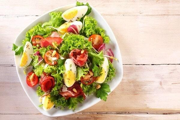 Salads lose weight quickly do you love