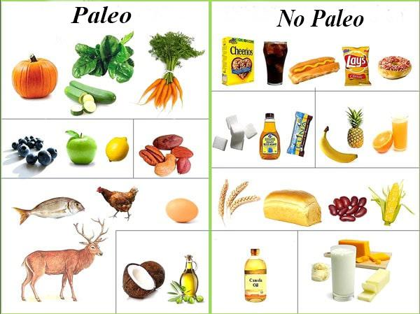 What foods should and should not be on the Paleo Diet.