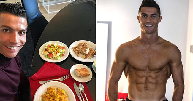Ronaldo's diet scares teammates