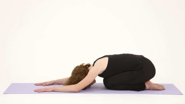 One of the Yoga postures effectively cure back pain