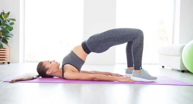 Yoga movements help reduce back pain