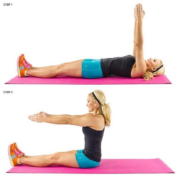 Pilates Sit Up