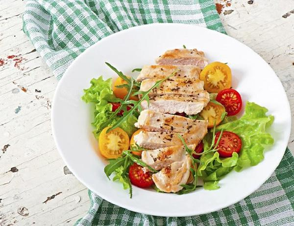 Add protein-rich foods to salad dressings