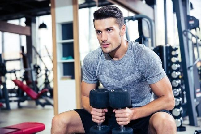 Here are the most specific guidelines for men who just started going to the gym.