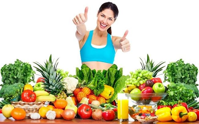 Increase vitamins in green vegetables and fruits before and during the gym.