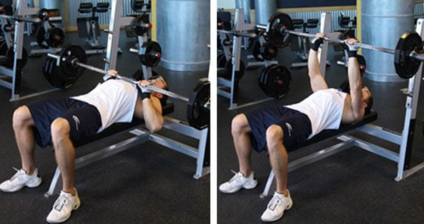 Chest slot exercises