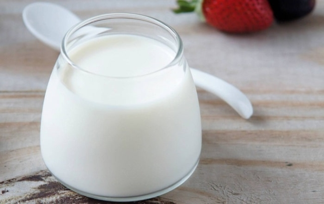 Yogurt helps with beautiful skin weight loss.