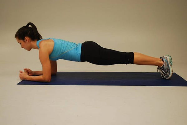 Plank exercises help to lose weight fast