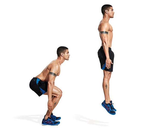 Basic Street Workout exercises.