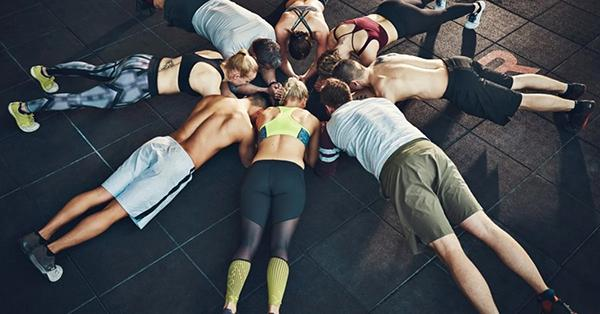 Practice plank with back pain