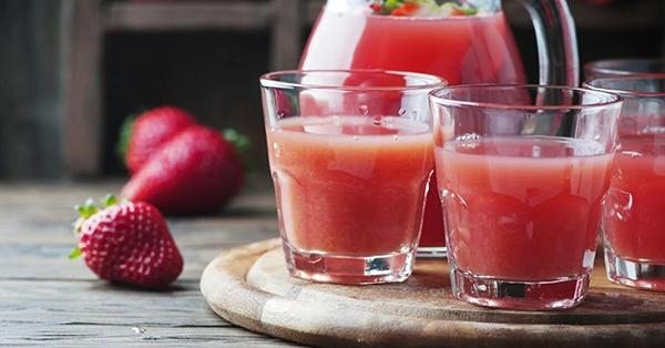 Drink lots of juice