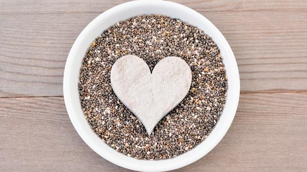 Chia seeds are good for the cardiovascular system.