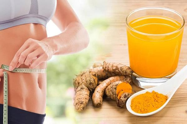 Drinking fresh turmeric to lose weight is a bit difficult to drink but very effective.
