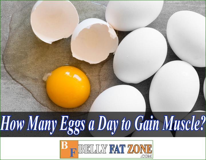 How many eggs a day to gain muscle mass?