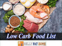 Low Carb Food List – Low Carb Diet Properly To Ensure Energy Every Day