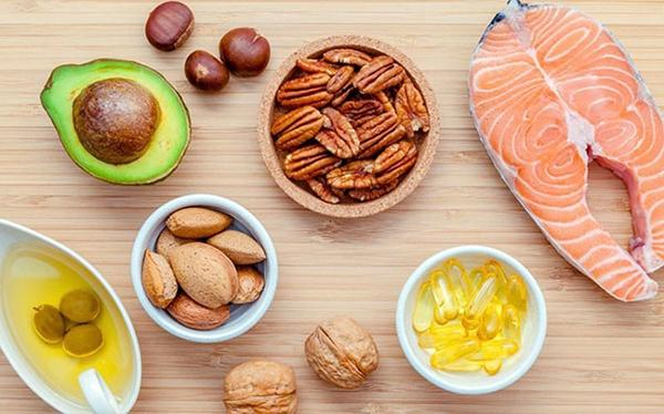 Foods that contain monounsaturated fat.