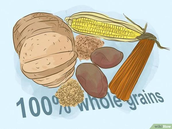 Eat more grains and reduce carbs