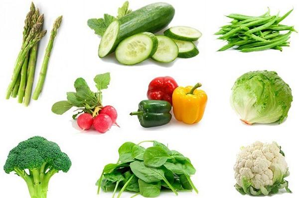 Include nutritious vegetables right on your weight loss menu.