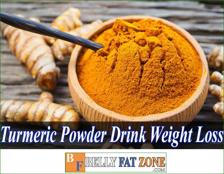 turmeric powder drink for weight loss bellyfatzone com