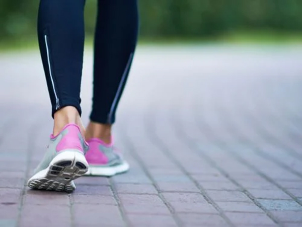 Walk on a flat surface
