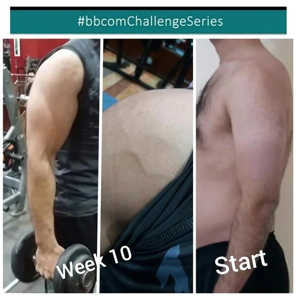 Body transformation 3 months Mostafa Yousri