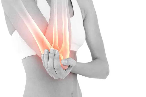 Injury to the elbow joint