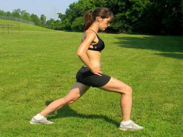 To falter - Lunges