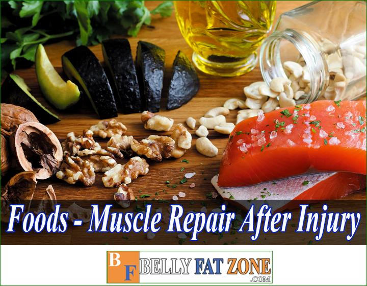 foods for muscle repair after injury