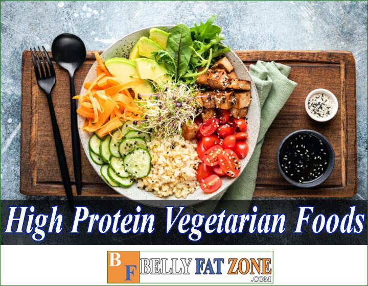 high protein vegetarian foods For bodybuilding