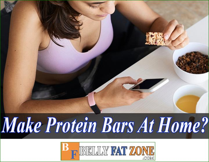 How to make protein bars at home for weight loss?