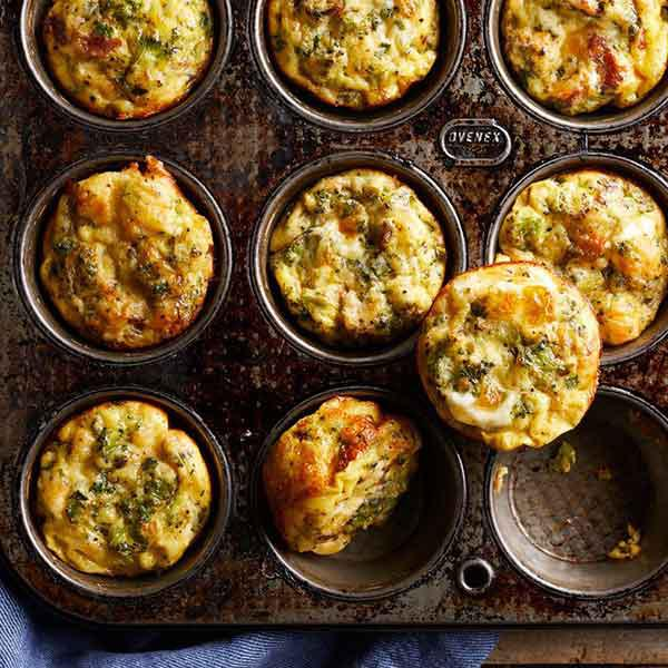 Medium egg muffins + 1 medium orange