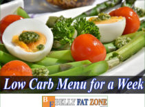 Low Carb Menu for a Week – Save You Time Thinking